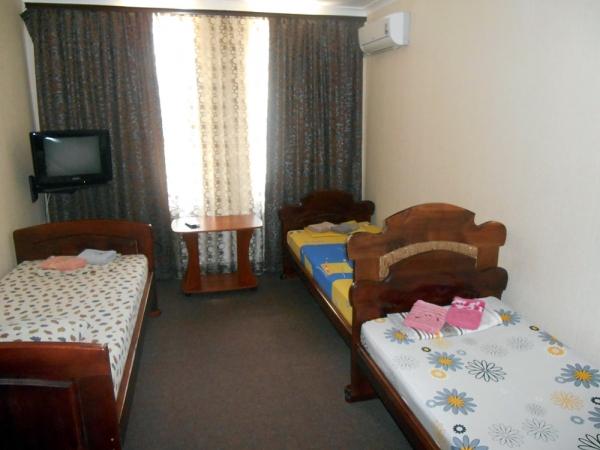 Трехместный гостиничный номер №14